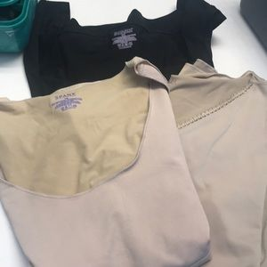 Lot of 3 Spanx undershirts camisoles